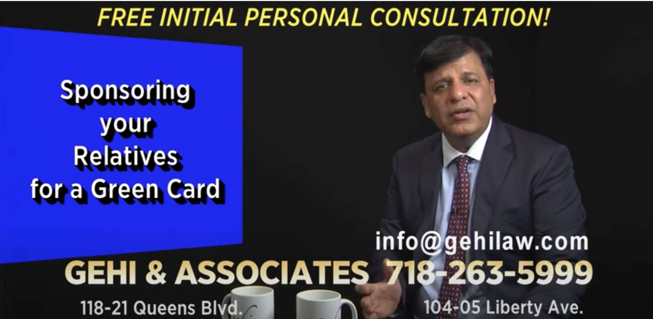 Sponsoring your relatives for a Green card – NYC Immigration lawyer
